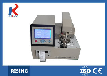 Automatic Open Cup Flash Point Tester ~400℃ Indoor Temperature RSKS-IV